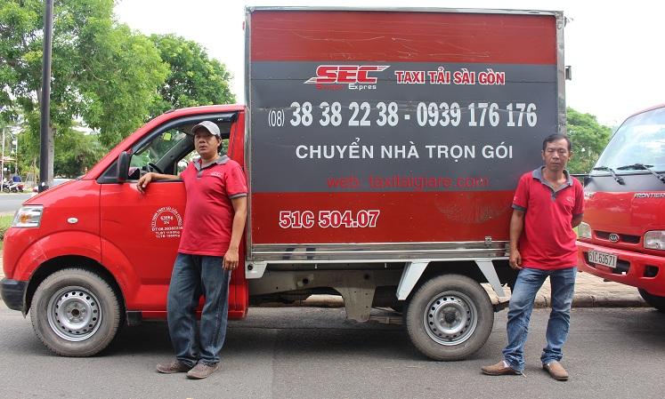 thuê xe tải chuyển nhà tphcm
