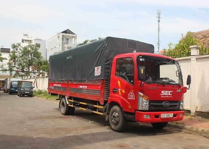 dịch vụ chuyển hàng nguyên chuyến